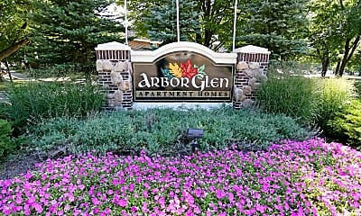 Community Signage, Arbor Glen Apartment Homes, 0