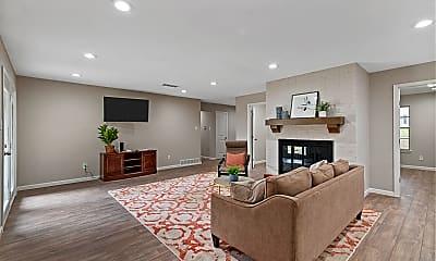 Living Room, 1605 Meadowlane Terrace, 1