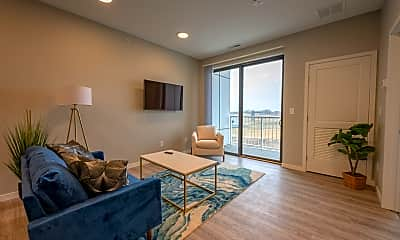 Living Room, Flats 55, 1