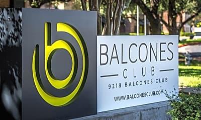 Balcones Club Apartments, 1