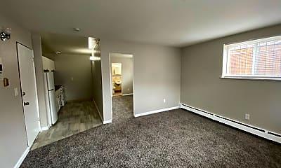 Living Room, 1640 Beeler St, 1