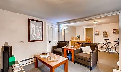 Living Room, 1133 Corona St, 1