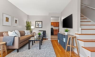 Living Room, Arborwood Townhomes, 0
