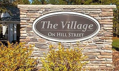 Community Signage, Village on Hill Street, 2