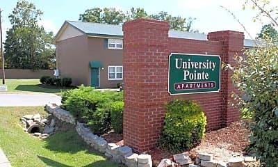 Community Signage, University Pointe Apartments, 2