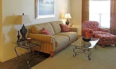 Living Room, Silver Oak Apartments, 1