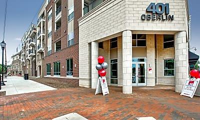 Building, 401 Oberlin Apartments at Cameron Village, 2