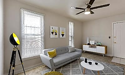 Living Room, 1270 Logan St, 1