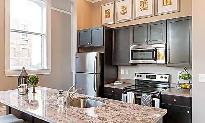 Kitchen, 300 Alexander Apartments, 0