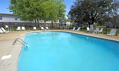 Pool, Gulf Grove and Oak Park Apartments, 0