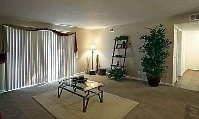 Living Room, The Oaks At St. Andrew's, 1