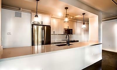 Kitchen, Broadway Lofts, 1