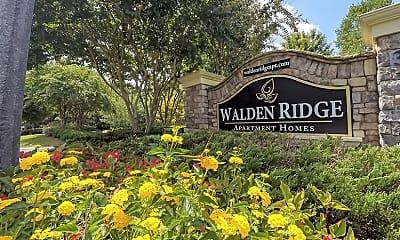 Community Signage, Walden Ridge, 2