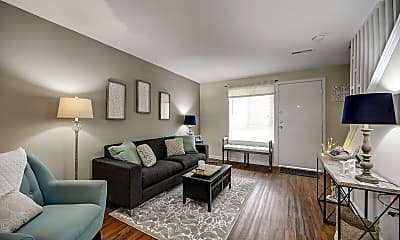 Living Room, Brookhill Townhouse Apartments, 0