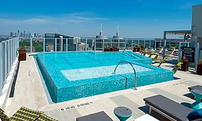 Pool, 6750 Main St, 2