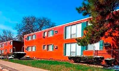 Building, Terrace Court Apartments, 0