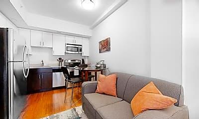 Living Room, 8 Winter St., #505, 1