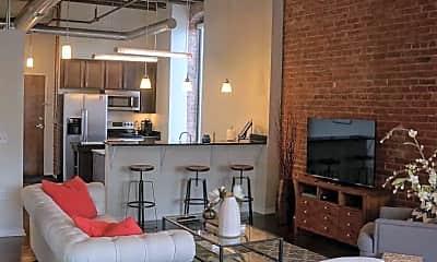 Living Room, Aria Cultural District Lofts, 1