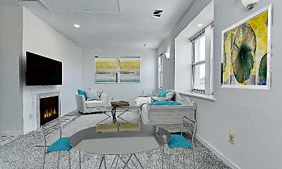 Living Room, 2114 N St NW, 1