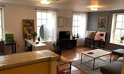 Living Room, 100 N 3rd St 4A, 1