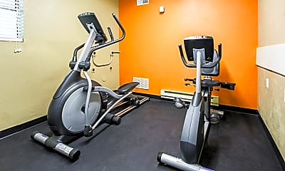 Fitness Weight Room, Countryside Village, 2