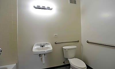 Bathroom, 2100 Marshall Lofts, 2
