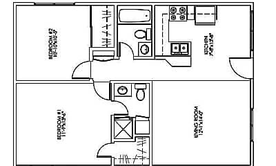 Sunset Villas 2 bd 2 bth Remodeled.jpg, 45270 Panorama, 1