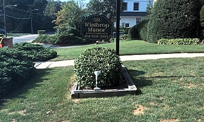 Winthrop Manor Apartments, 1