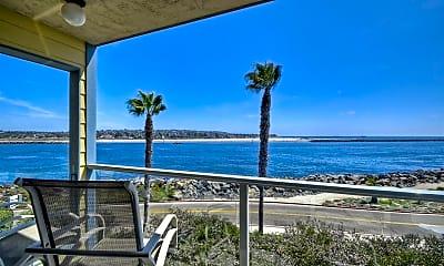 Patio / Deck, 2595 Ocean Front Walk 6, 1