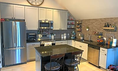 Kitchen, 971 South Galapago Street, 1