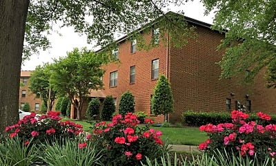 Landscaping, Green Tree Apartments, 0