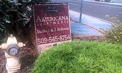Americana Apartments, 1