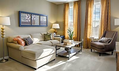 Living Room, The Enclave At Emerson, 1