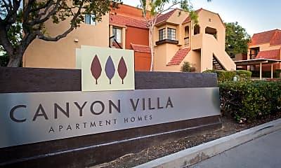 Community Signage, Canyon Villa Apartments, 0