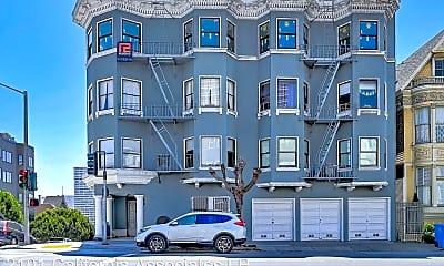 Building, 2101 California St, 1