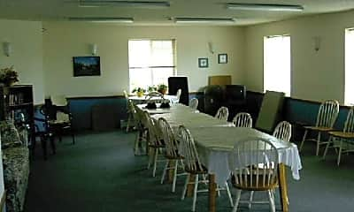 Dining Room, Prairie View Apartments, 1