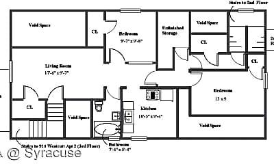 Bedroom, 909 Westcott St, 2