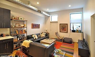 Living Room, 1015 N Noble St, 1