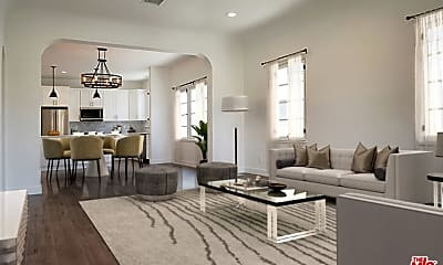 Living Room, 427 N Stanley Ave, 0