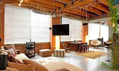 Living Room, Metro Lofts, 1