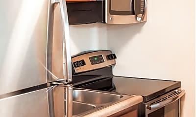 Kitchen, Hillcrest Apartments & Oakwood Townhomes, 1