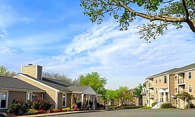 Building, eaves Burlington, 2