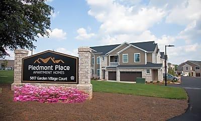 Building, Piedmont Place Apartments, 1