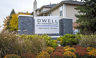Community Signage, Dwell at Naperville, 0