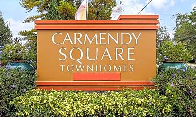 Community Signage, Carmendy Square, 2