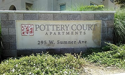 Pottery Court Apartments, 1