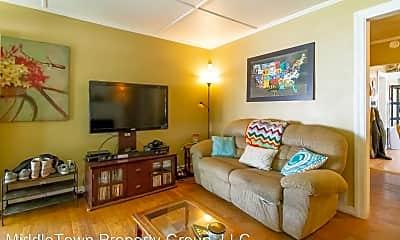 Living Room, 1408 N Mann Ave, 1
