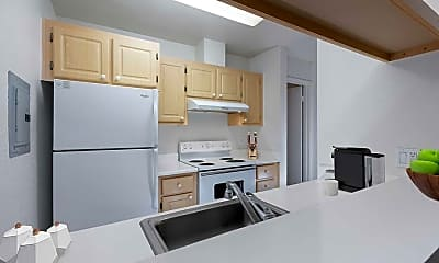 Kitchen, eaves Daly City, 1