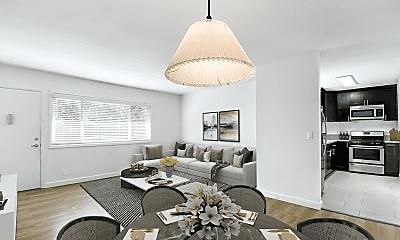 Living Room, 1446 S Cochran Ave, 1