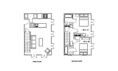 Bedroom, 106 Rue Du Grand Fromage, 2